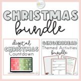 Christmas Activities BUNDLE | Christmas Countdown, STEM Ch