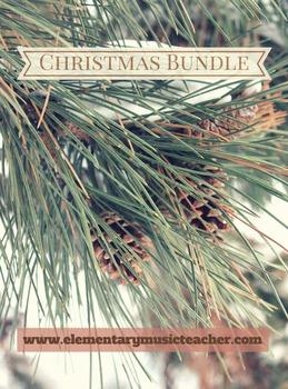 Christmas Songs Bundle: Video, 5 songs & activities!