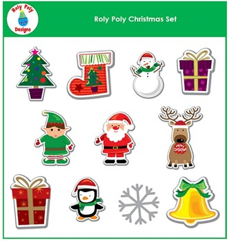 Christmas Bundle by Roly Poly Designs
