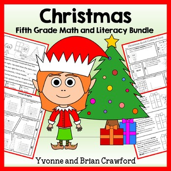 Christmas Bundle for Fifth Grade Endless