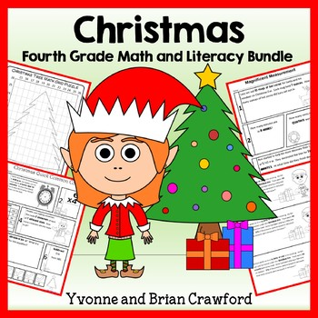 Christmas Bundle for Fourth Grade Endless