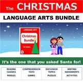 Christmas Activities, No Prep, December Bundle for Teens and Tweens