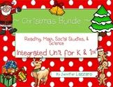 Christmas Bundle for Kindergarten and First Grade