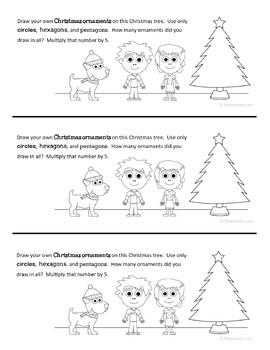 Christmas Bundle for Second Grade Endless