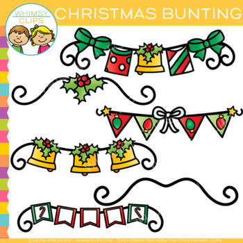 Free Christmas Bunting Clip Art