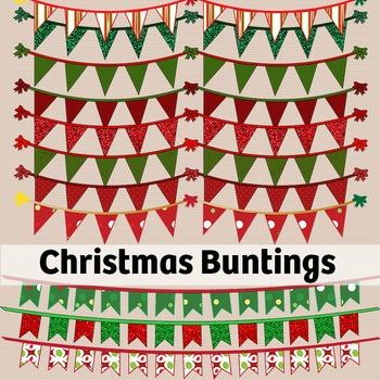 Christmas Bunting Dividers