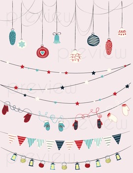 {FREEBIE} Christmas Buntings