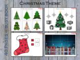 Christmas Busy Binder for Toddlers and Pre-schoolers, Busy