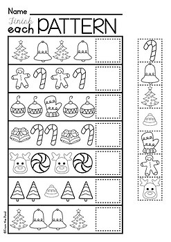 Christmas Activities for Kindergarten {Math and Literacy ...