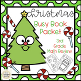 Double Digit addition and subtraction Christmas Third Grade Math Review