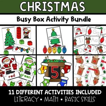 Christmas Busy Boxes **BUNDLE**