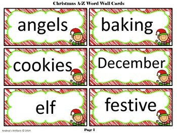 Christmas CCSS Math, Literacy and More Fun Stuff!