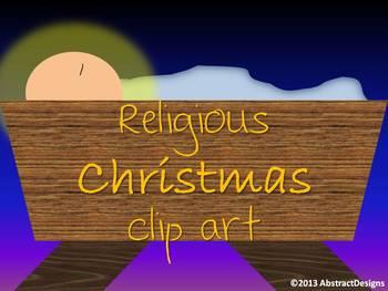 Christmas CLIP ART - Religious