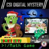 Christmas Math Game - CSI Digital Mystery: ( Christmas Div