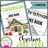Christmas CURSIVE Practice Joke Book