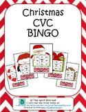 Christmas CVC Bingo