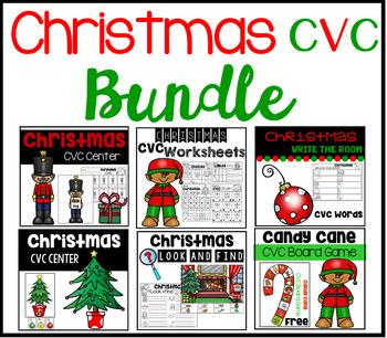Christmas CVC Bundle