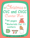 Christmas CVC & CVCC Center Fun