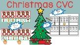 Christmas CVC Center Activity: Short Vowel Sounds