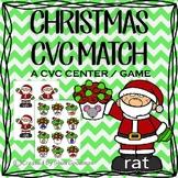 Christmas CVC Matching game