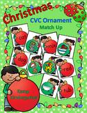 Christmas CVC Ornament Match Up