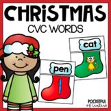 Christmas CVC Puzzles