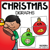 Christmas CH, SH, TH, WH Digraph Puzzles {FREE}