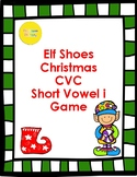 Christmas CVC Short i Word Family Game