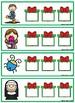 Christmas CVC Strips:  Short U