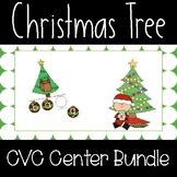 Christmas CVC Word Builder Center