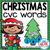 Christmas CVC Word Building Activity
