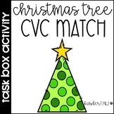 Christmas CVC Words Center {Task Box}