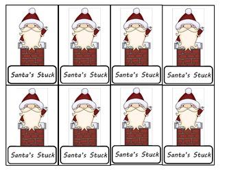 Christmas CVC blending game