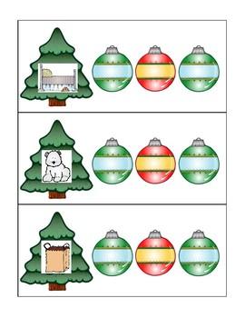 Christmas CVC cards