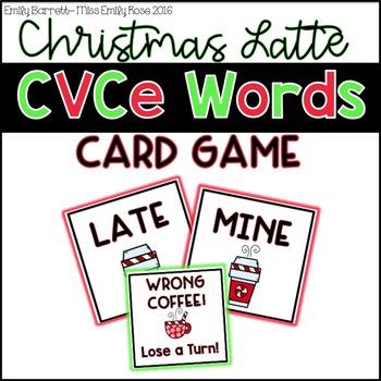 Christmas CVCe Game