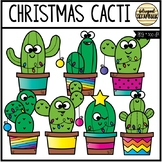 Christmas Cacti (Clip Art for Personal & Commercial Use)
