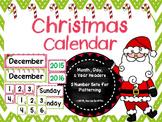 Christmas Calendar Set