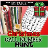 Christmas Call Number Hunt