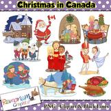 Christmas around the World Clip art Canada