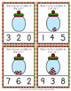Christmas Candies Count and Clip Cards Numbers 0-10