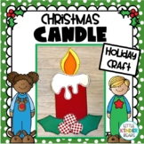 Christmas Candle:  December crafts