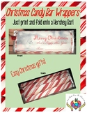 Christmas Candy Bar Wrapper FREEBIE