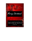 Christmas Candy Bar Wrapper - Gift for Your Students