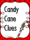Christmas Candy Cane Context Clues