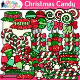 Christmas Candy Clip Art   Christmas Clipart for Teachers