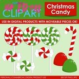 Christmas Candy Clip Art (Digital Use Ok!)