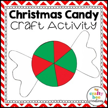Christmas Candy Cut and Paste