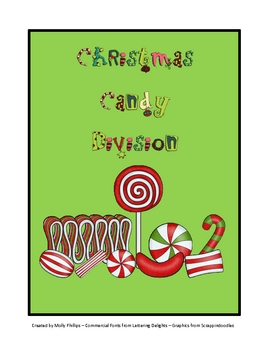Christmas Candy Division Game