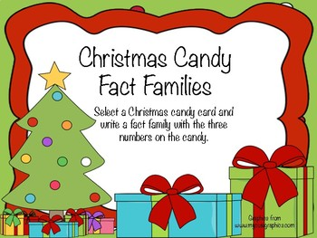 Christmas Candy Fact Families