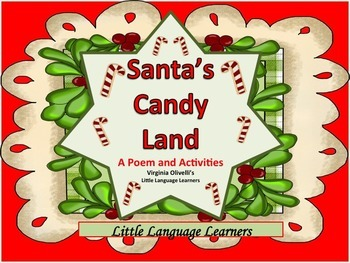 ESL Resources: Christmas Candy Land -Poem and Activities- ELL Newcomers Too!